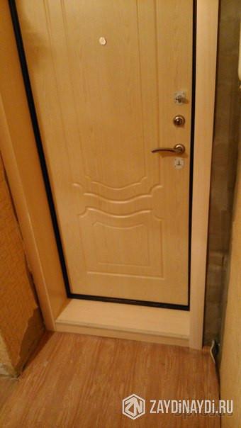 двери входные установка отделка